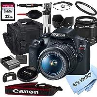 Canon EOS Rebel T7 DSLR Camera w/2 Lens Bundle Deals