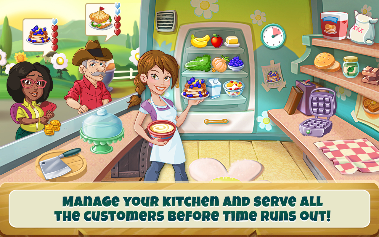 Kitchen scramble cooking game appstore for android - Jeux de cuisine kitchen scramble ...