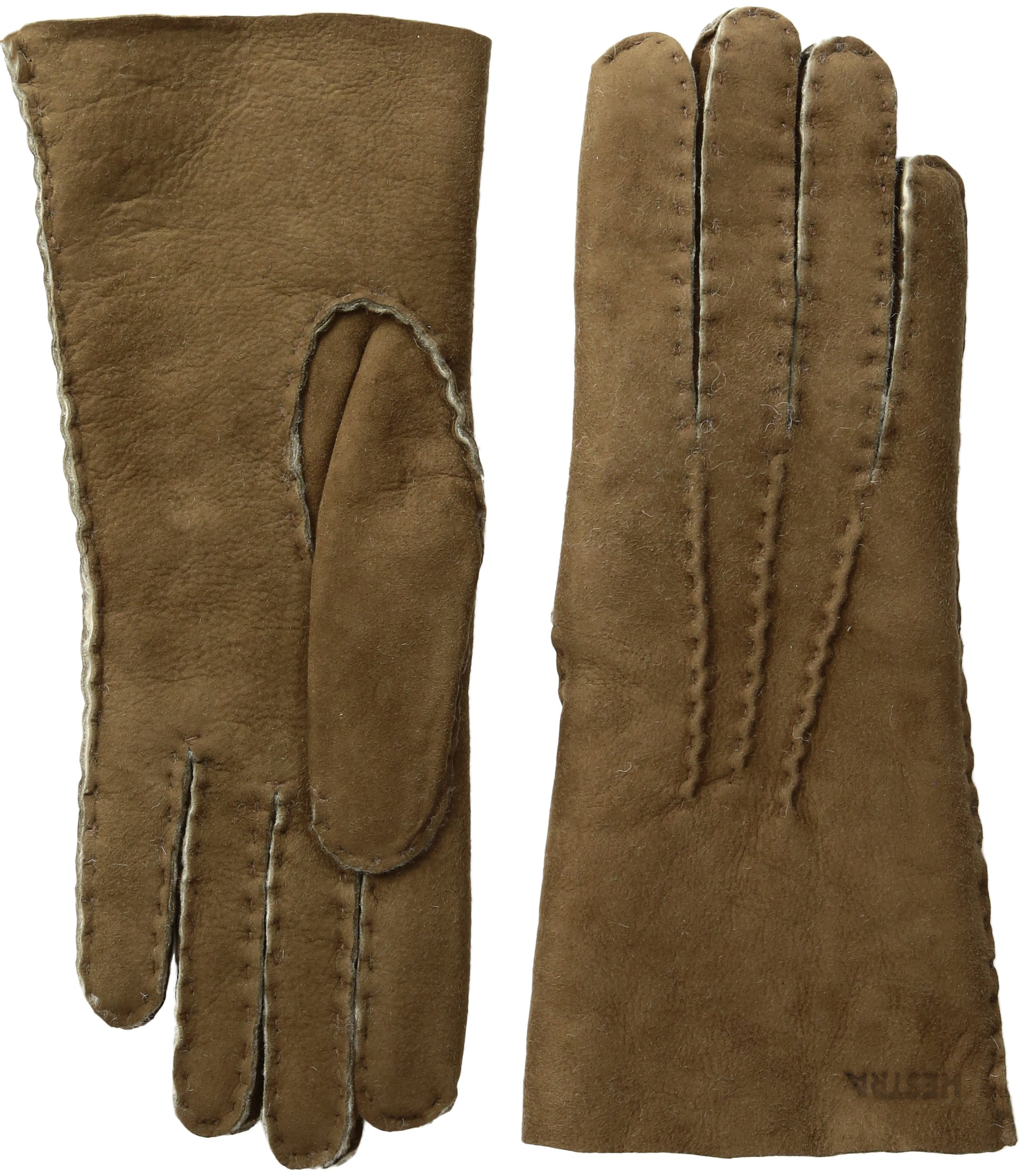 Hestra Women's Sheepskin Leather Dress Glove,Beige,8 by Hestra