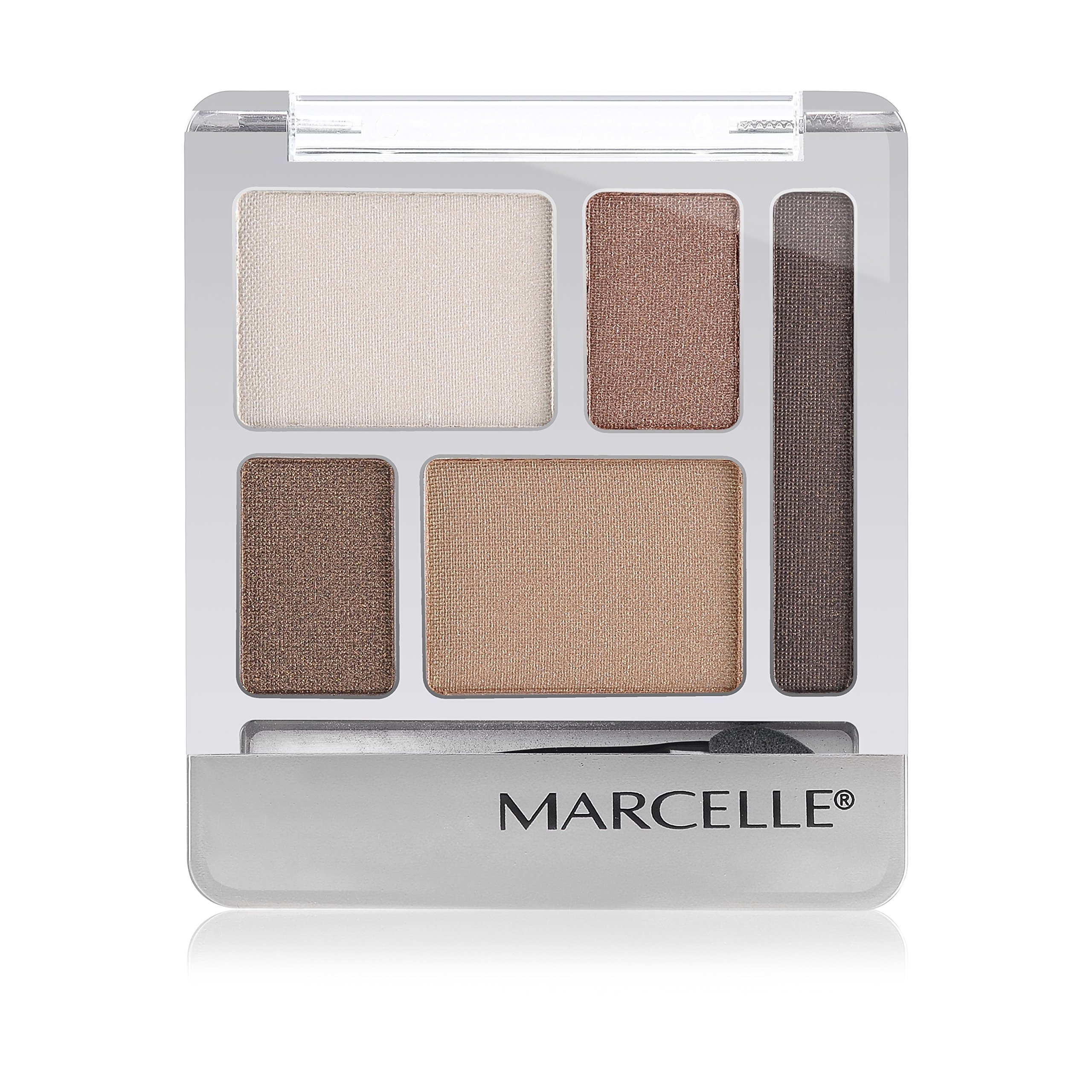 Marcelle Quintet Eyeshadow, Copper Fever, Hypoallergenic and Fragrance-Free, 0.20 oz