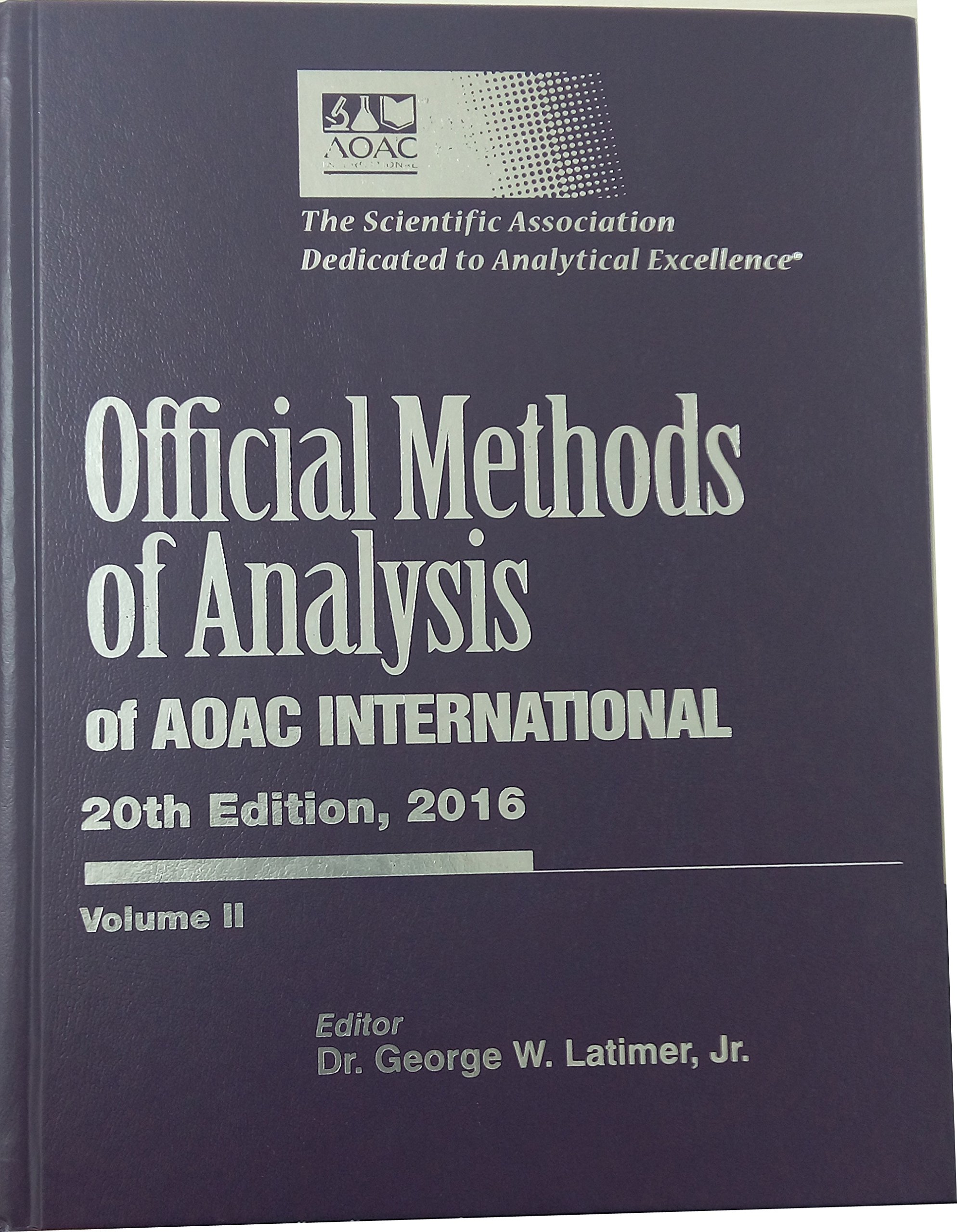 Aoac manual array official methods of analysis of aoac international 20th edition rh amazon com fandeluxe Gallery