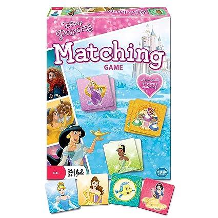 Wonder Forge Disney Princess Matching Game For Girls Boys Age 3 To 5 A Fun Fast Princess Memory Game