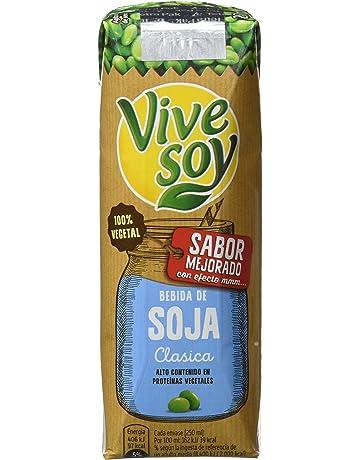 Vivesoy Bebida de Soja - Paquete de 3 x 250 ml - Total: 750 ml
