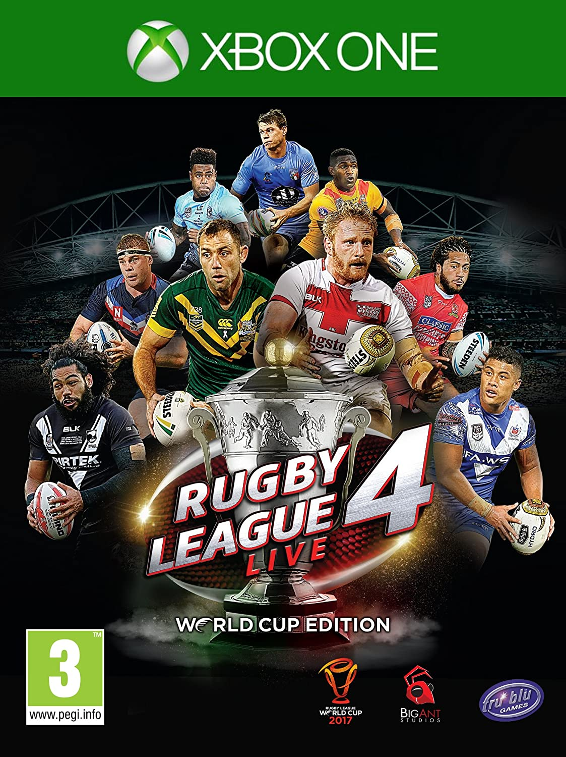 Rugby League Live 4 World Cup Edition - Xbox One [Importación ...