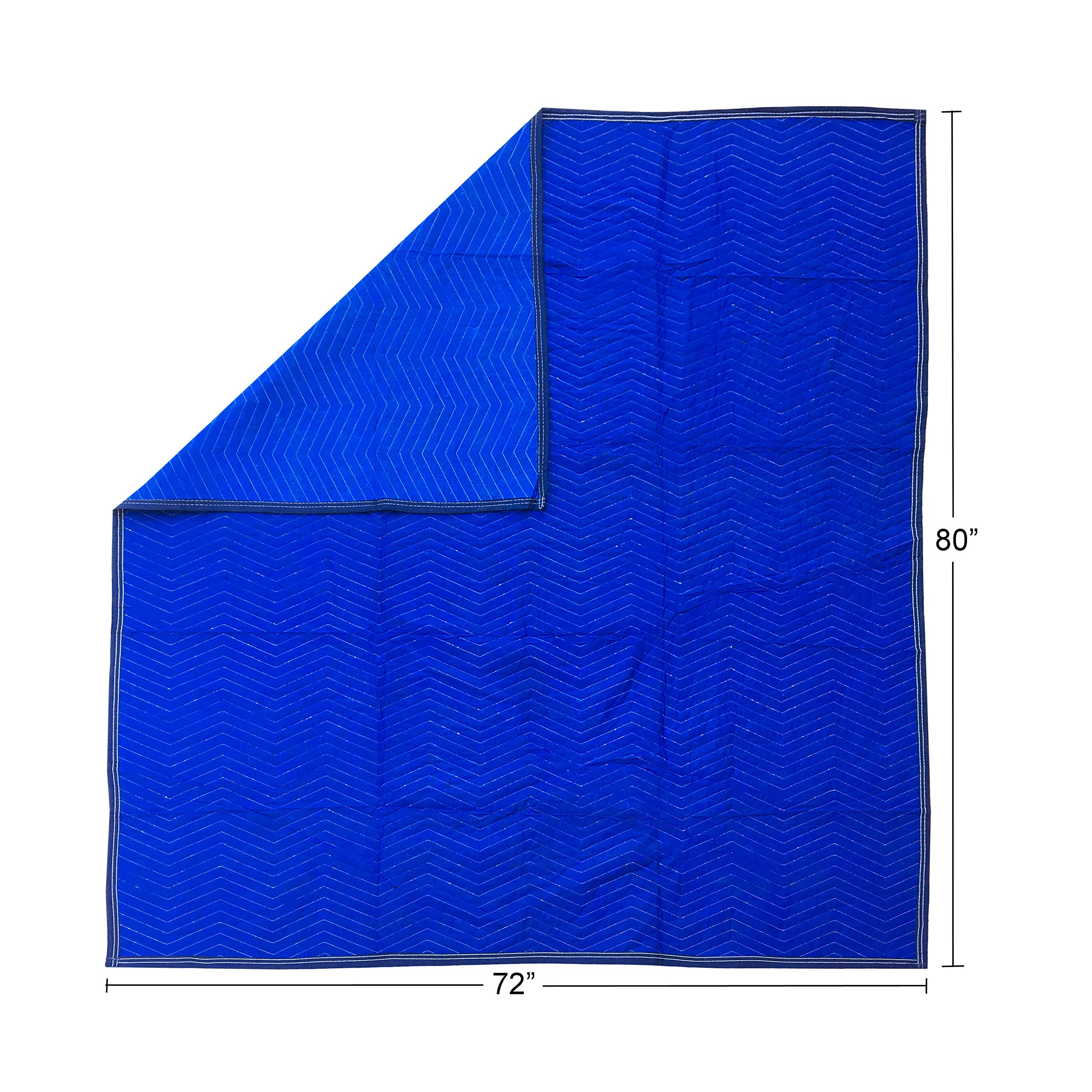 36 Economy Moving Blanket 72x80'' 43# Quilted Moving Blankets by Uboxes (Image #5)