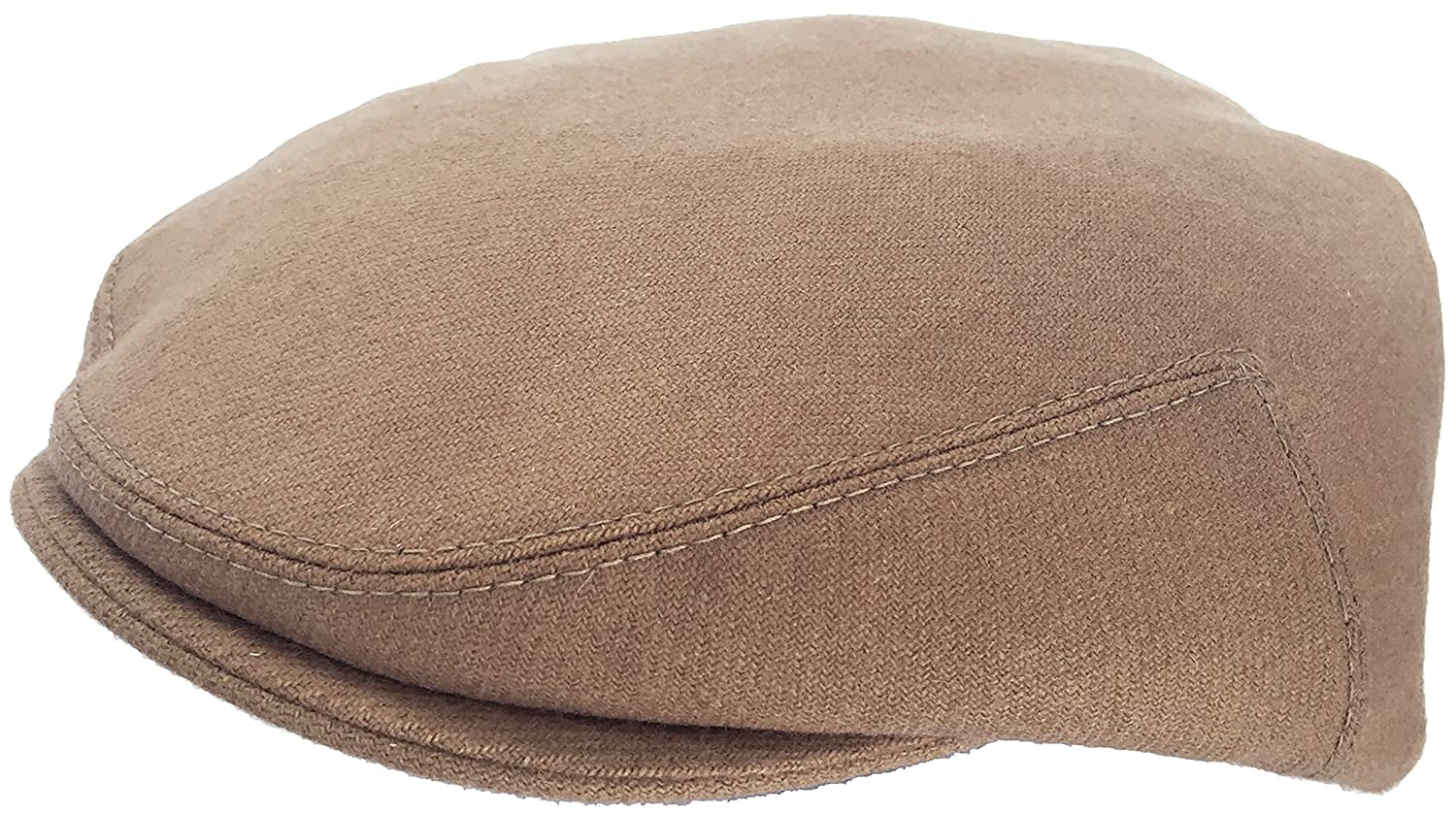 eafbd34b4e7 Amazon.com  Headchange Made in USA 100% Wool Ivy Scally Cap Driver Hat   Clothing