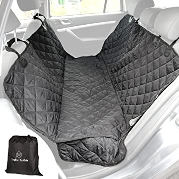 Medium image of pet seat cover   dog hammock back seat cover   car backseat hammock   pet car