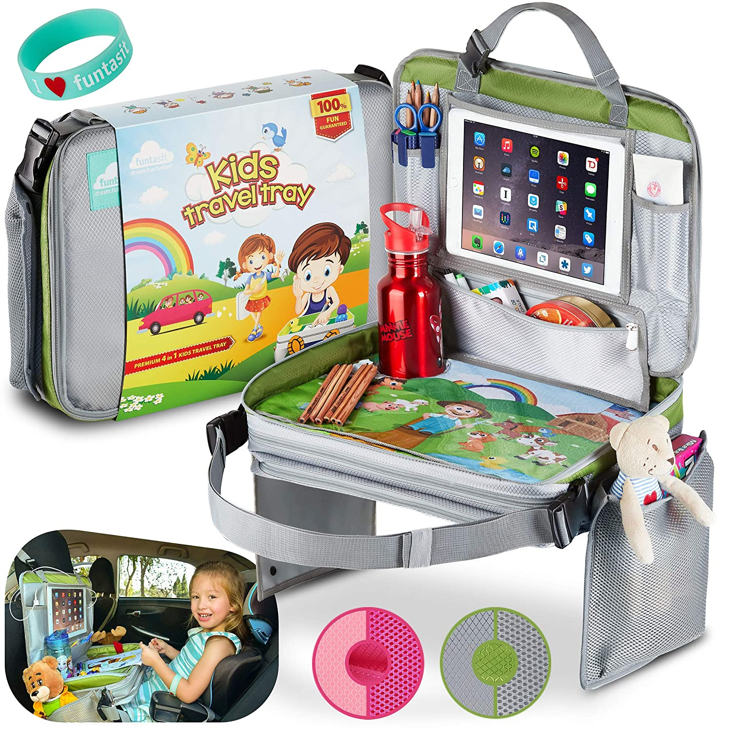 travel tray for car seats