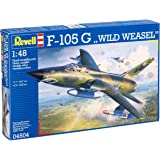 """Revell Modellbausatz 04504 - F-105 G """"WILD WEASEL"""" im Maßstab 1:48"""