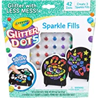 CRAYOLA 04-0626 Glitter Dots Sparkle Fills, Mess Free Glitter Craft Kit for Kids who Love Sparkle in Their Art! A…