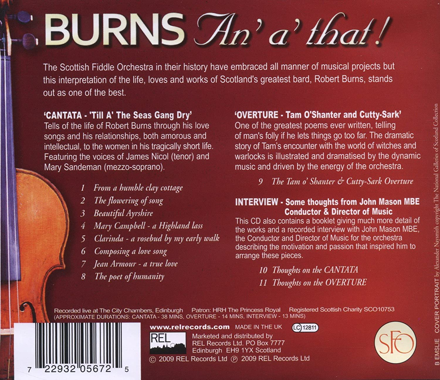 the Scottish Fiddle Orchestra - Burns An' A' That! - Amazon