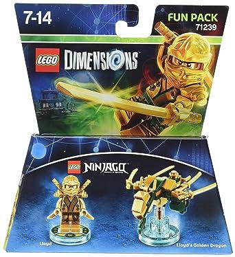 Lego Dimensions: Fun Pack Lloyd Gold Ninja: Amazon.co.uk: PC & Video ...