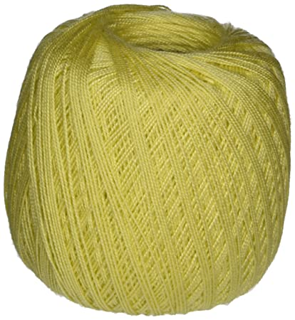 Amazoncom Spinrite Handicrafter Crochet Thread Size 5 Solids