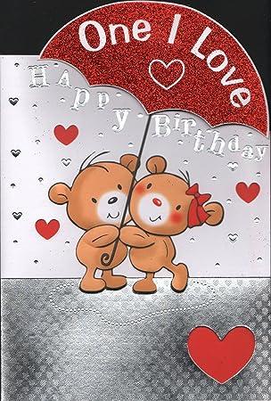 One I Love Birthday Card