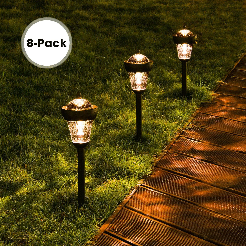 Amazon.com : Solar Lights Outdoor, DecorNova Waterproof Solar ...