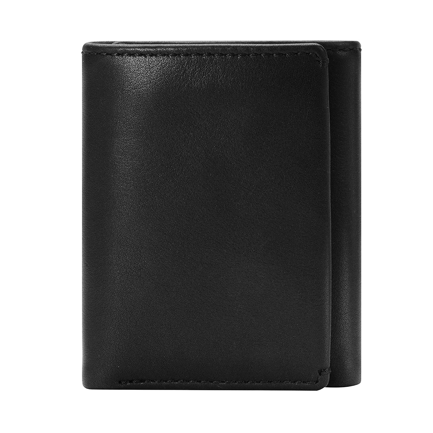 c7a6afbaa604 Eastwood Nappa TRIFOLD Wallet-Men's Leather Trifold Wallet-Divided Bill  Compartment & ID Window at Amazon Men's Clothing store:
