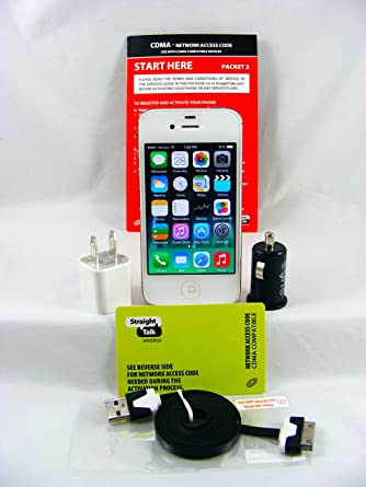 iphone no contract. newest apple iphone 4 md200ll/a 8gb white for verizon (no contract) sealed iphone no contract