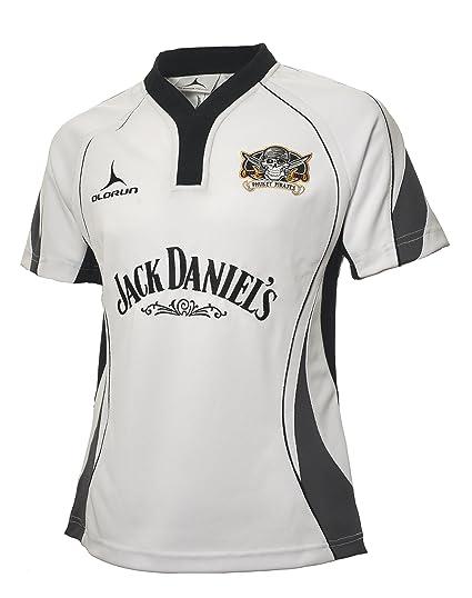c2da69ea5 Phuket Pirates Rugby Shirt sponsored by Jack Daniels White S-XXXXL 2014 2015  (