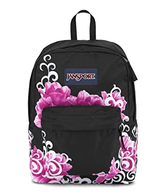 JanSport Half Pint Backpack- Discontinued Colors (Multi Stickers) c3c0d13a66081