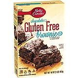 Betty Crocker Baking Mix, Gluten Free Brownie Mix, Chocolate, 16.0 Oz Box
