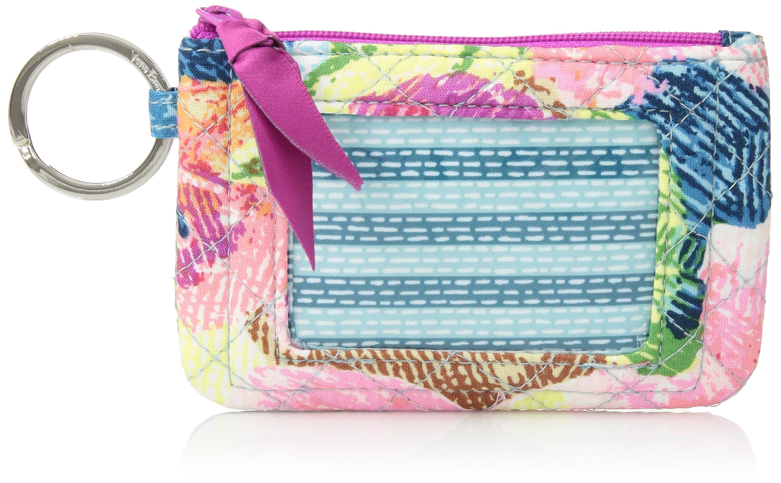 Vera Bradley Iconic Zip ID Case, Signature Cotton, Superbloom