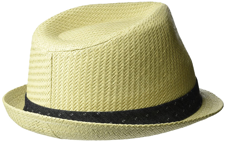 afa76dc35 Levi's Men's Classic Straw Fedora Hat
