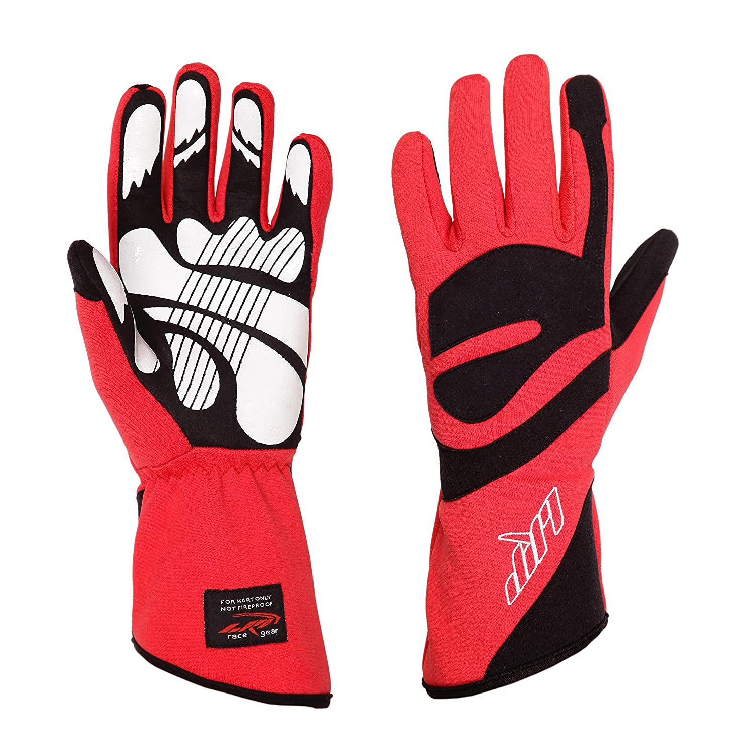 LRP Kart Racing Gloves Red, M Freedom Gloves Highest protection