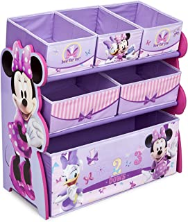 Delta Enterprise Minnie Multi-Bin Toy Organizer(Discontinued by manufacturer)  sc 1 st  Amazon.com & Amazon.com: Delta Childrenu0027s Products Minnie Mouse Canopy Toddler ...