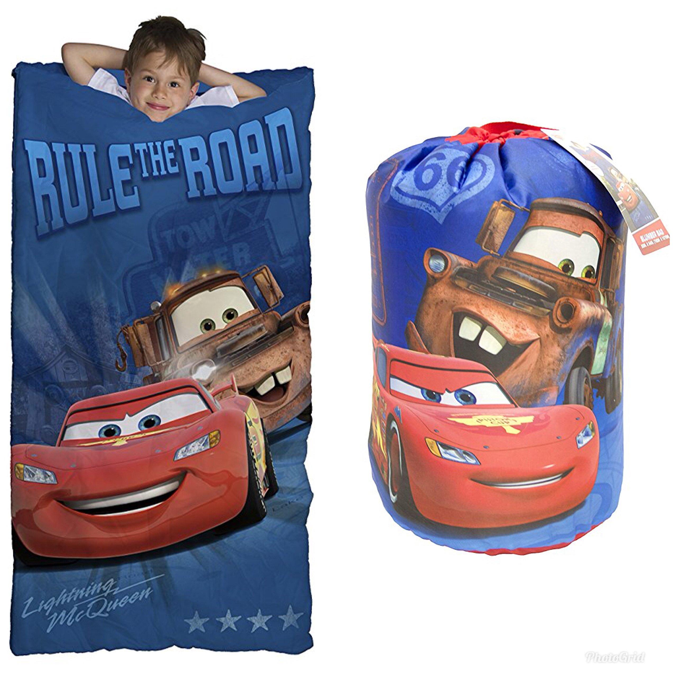 Cars Disney Pixar Sleeping Bag and Sling Slumber Set