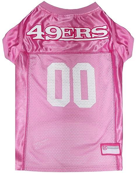 Amazon.com   NFL SAN Francisco 49ERS Dog Jersey Pink 38d52bee5