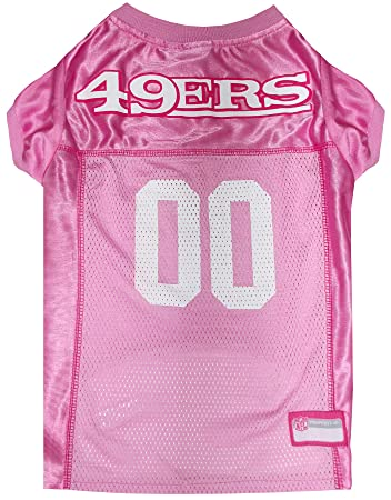 best loved 5bd5f c3dfb NFL PINK PET APPAREL. JERSEYS & T-SHIRTS for DOGS & CATS available in 32  NFL TEAMS & 4 sizes. Licensed, TOP QUALITY & Cute pet clothing for all NFL  ...