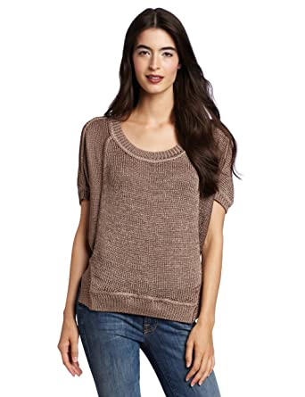 Amazon.com: 7 For All Mankind Women's Cocoon Pullover Sweater ...