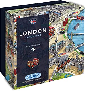 Ravensburger political world map 500pc jigsaw puzzle amazon gibsons london landmarks gift box puzzle 500 piece gumiabroncs Gallery