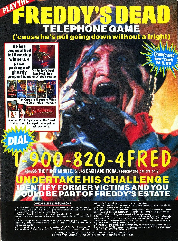 Amazoncom A Nightmare On Elm Street Hotline 1984 Movie Poster