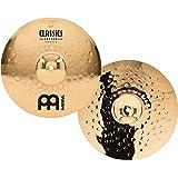 Meinl Cymbals CC14MH-B Classics Custom 14-Inch Brilliant Medium Hi Hat (VIDEO)