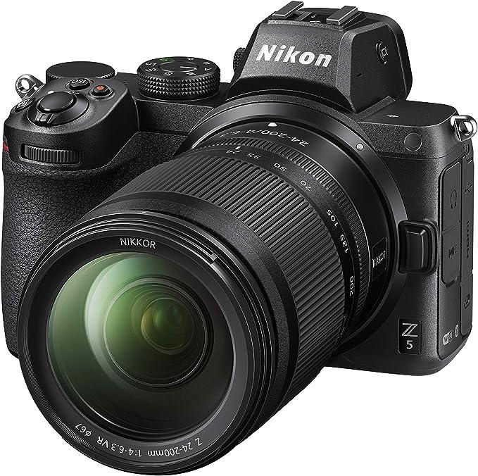 Amazon.com : Z 5 w/NIKKOR Z 24-200mm f/4-6.3 VR : Camera & Photo