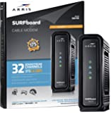 ARRIS SURFboard SB6190 BLK DOCSIS 3.0 Cable Modem - Retail Packaging - Black
