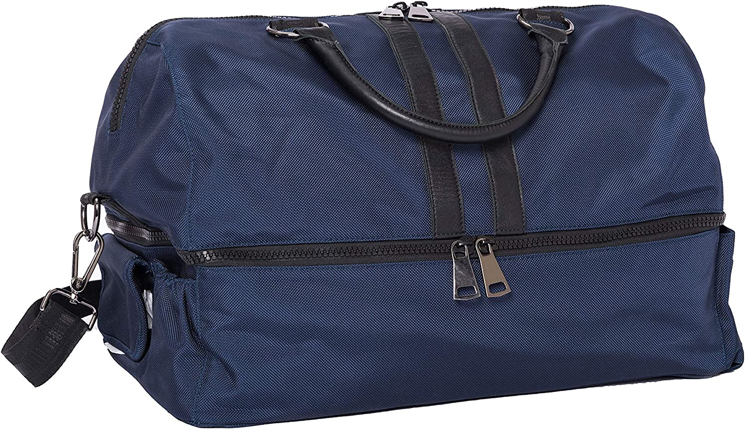 Image of Baby E.C. Knox, Luxury Diaper Bags for Dads, Colton Weekender, Navy
