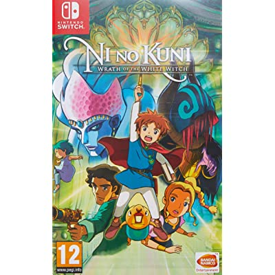 Ni No Kuni: Wrath Of The White Witch - Nintendo Switch [Importación inglesa]