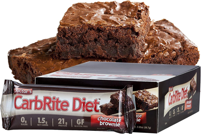 Doctors CarbRite Diet Bar Chocolate Brownie - 1 Unidad ...