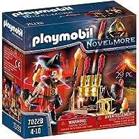 PLAYMOBIL Novelmore 70228 Maestro de Fuego Bandidos Burnham, Para Niños de 4 a 10 Años de Edad