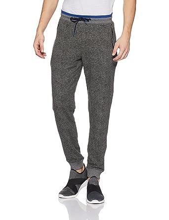 721c665fdf Van Heusen Athleisure Men's Cotton Track Pants (8907670037584_50046_Grey_S)