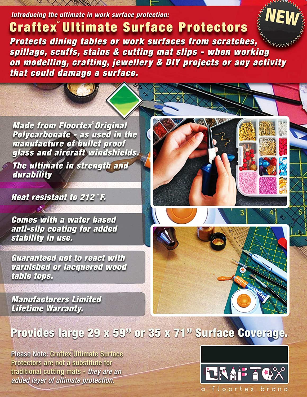 Amazon.com: Craftex Ultimate Polycarbonate Anti-Slip Table ...