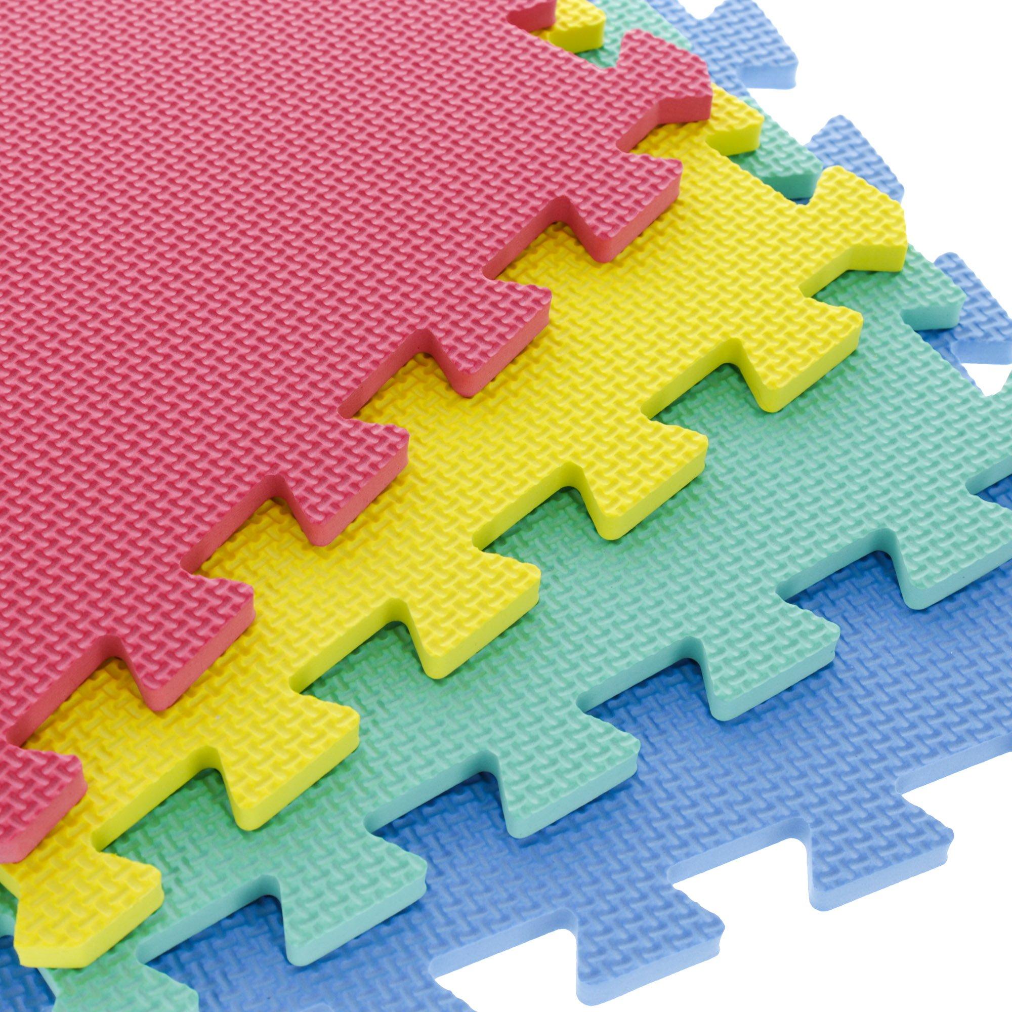 Stalwart Foam Mat Floor Tiles, Interlocking EVA Foam Padding by Stalwart (Image #4)