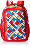 Skybags Polyester 30 Ltrs Red Casual Backpack (BPHELFS6RED)