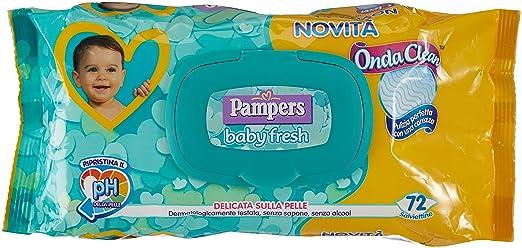 9 opinioni per Pampers Baby Fresh Salviettine, 72 Pezzi