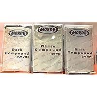 Morde Chocolate 3 in 1 Dark Milk White Compounds