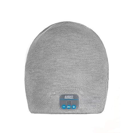 29b6484333c August EPA20 – Bluetooth Cap – Winter Beanie Hat with Bluetooth Stereo  Headphones