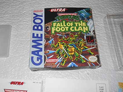 Tortugas Ninja, Fall of the Foot Clan: Amazon.es: Videojuegos