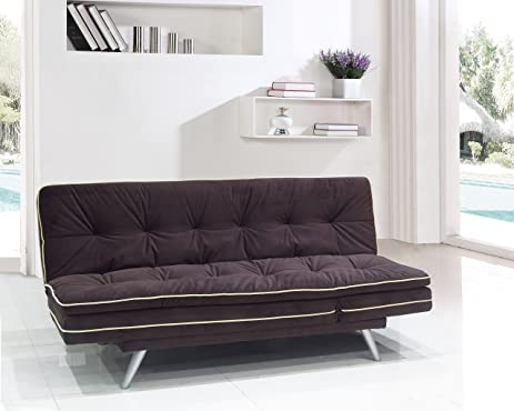 milton green stars tudela 3 in 1 multi function convertible sofa brown amazon    milton green stars tudela 3 in 1 multi function      rh   amazon